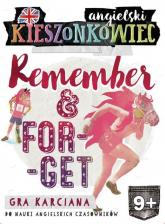 Kieszonkowiec angielski Remember Forget (9+) - Dorota Kondrat   mała okładka