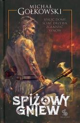 Spiżowy gniew - Michał Gołkowski | mała okładka