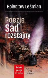 Poezje Sad rozstajny - Bolesław Leśmian | mała okładka