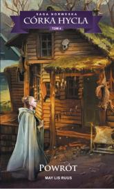 Saga Norweska Córka hycla 4 Powrót - Ruus May Lis | mała okładka
