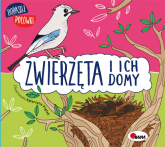 Dopasuj połówki Zwierzęta i ich domy - Wiśniewska Joanna, Piątek Katarzyna   mała okładka