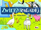Zwierzozagadki Na podwórku - Mirosława Kwiecińska | mała okładka