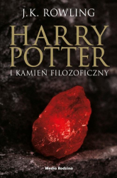 Harry Potter i kamień filozoficzny - Joanne Rowling   mała okładka