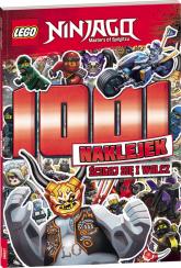 Lego Ninjago 1001 naklejek Ścigaj się i walcz! LTS-701 -  | mała okładka