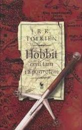 Hobbit czyli tam i z powrotem - J.R.R. Tolkien | mała okładka