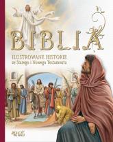 Biblia Ilustrowane historie ze Starego i Nowego Testamentu - Miklos Malvina, Katalin Marian, Judit Donsz, (ilustracje) | mała okładka