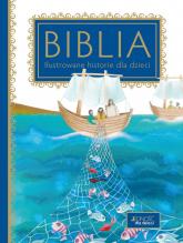 Biblia Ilustrowane historie dla dzieci - Rosa Mediani, Silvia Colombo (ilustracje)   mała okładka