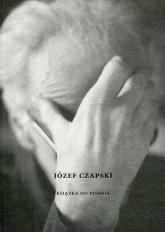Józef Czapski Książka do pisania -  | mała okładka