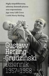 Dziennik 1957-1958 - Gustaw Herling-Grudziński   mała okładka