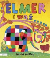 Elmer i wąż - David McKee | mała okładka