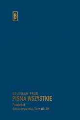 Emancypantki Tom 3-4 - Bolesław Prus | mała okładka