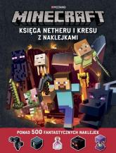 Minecraft Księga Netheru i Kresu z naklejkami - Stephanie Milton | mała okładka