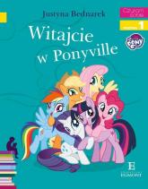 Witajcie w Ponyville Czytam sobie - Justyna Bednarek | mała okładka