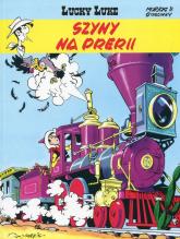 Lucky Luke Tom 9 Szyny na prerii - Rene Goscinny | mała okładka