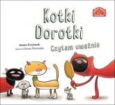 Kotki Dorotki Czytam uważnie - Joanna Krzyżanek | mała okładka