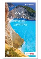 Korfu Lefkada Itaka Kefalonia Zakynthos Travelbook - Korwin-Kochanowski Mikołaj, Snoch Dorota | mała okładka