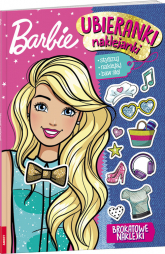 Barbie Ubieranki, naklejanki SDU-102 - zbiorowe Opracowanie | mała okładka