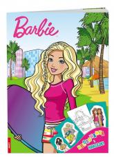 Barbie Kolorowanka i naklejki DPN-110 - zbiorowe Opracowanie | mała okładka