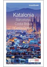 Katalonia Barcelona, Costa Brava i Costa Dorada Travelbook - Dominika Zaręba | mała okładka