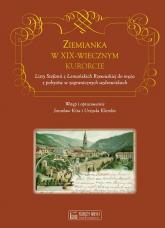 Ziemianka w dziewiętnastowiecznym kurorcie Listy Stefanii z Lemańskich Rzewuskiej do męża z pobytów w zagranicznych uzdrowiskach -  | mała okładka