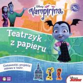 Teatrzyk z papieru Vampirina Disney - zbiorowe opracowanie | mała okładka