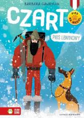 Pies na medal Czart pies lawinowy - Barbara Gawryluk | mała okładka