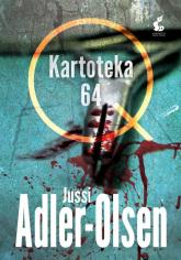 Kartoteka 64 - Jussi Adler-Olsen   mała okładka