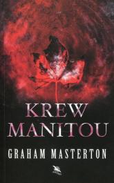 Krew Manitou - Graham Masterton | mała okładka