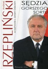 Sędzia gorszego sortu - Osiecki Jan, Rzepliński Andrzej | mała okładka