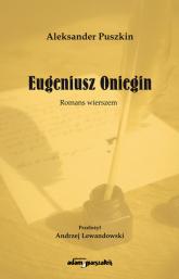 Eugeniusz Oniegin Romans wierszem - Aleksander Puszkin | mała okładka