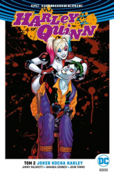 Harley Quinn Tom 2 Joker kocha Harley - Palmiotti Jimmy, Conner Amanda, Timms John | mała okładka