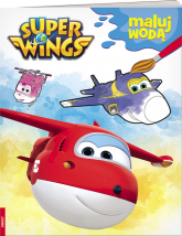 Super Wings Maluj wodą MW-301 -  | mała okładka