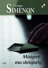 Maigret ma skrupuły - Georges Simenon | mała okładka