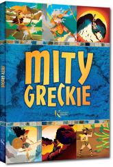 Mity greckie - Lucyna Szary | mała okładka