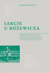 Lekcje u Różewicza - Janusz Drzewucki | mała okładka