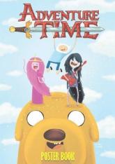 Adventure Time - POSTER BOOK / Studio JG - zbiorowa Praca | mała okładka