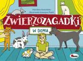 Zwierzozagadki W domu - Mirosława Kwiecińska | mała okładka