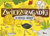 Zwierzozagadki W dalekich krajach - Mirosława Kwiecińska | mała okładka