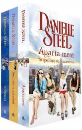 Apartament / Bezpieczna przystań / Nadzieja Pakiet - Danielle Steel | mała okładka