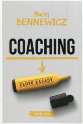 Coaching Złote zasady - Maciej Bennewicz | mała okładka