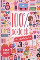 100% naklejek do pamiętnika -  | mała okładka