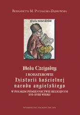 Beda Czcigodny i bohaterowie - Bernadetta Puchalska-Dąbrowska | mała okładka