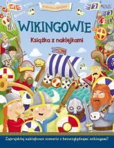 Wikingowie Historia w naklejkach -  | mała okładka