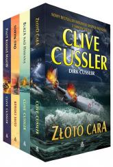 Złoto cara / Burza nad Hawaną / Oko Niebios / Piąty kodeks Majów Pakiet - Clive Cussler | mała okładka