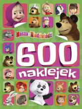 Masza i Niedźwiedź 600 naklejek -  | mała okładka