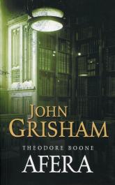 Afera Theodore Boone - John Grisham | mała okładka