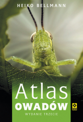 Atlas owadów - Heiko Bellmann | mała okładka