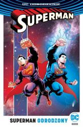 Superman Tom 4 Odrodzony - Jurgens Dan, Tomasi Peter J., Gleason Patrick, Dini Paul, Mahnke Doug, Mendoza Jaime, Alamy Christia | mała okładka