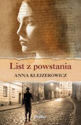 List z powstania - Anna Klejzerowicz | mała okładka