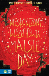 Nieskończony wszechświat Maisie Day - Christopher Edge | mała okładka